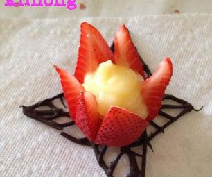 Strawberry and Cream Flowers