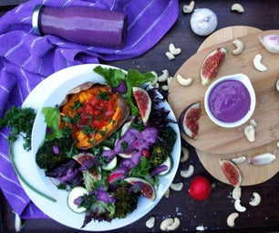 Purple Goddess Dressing
