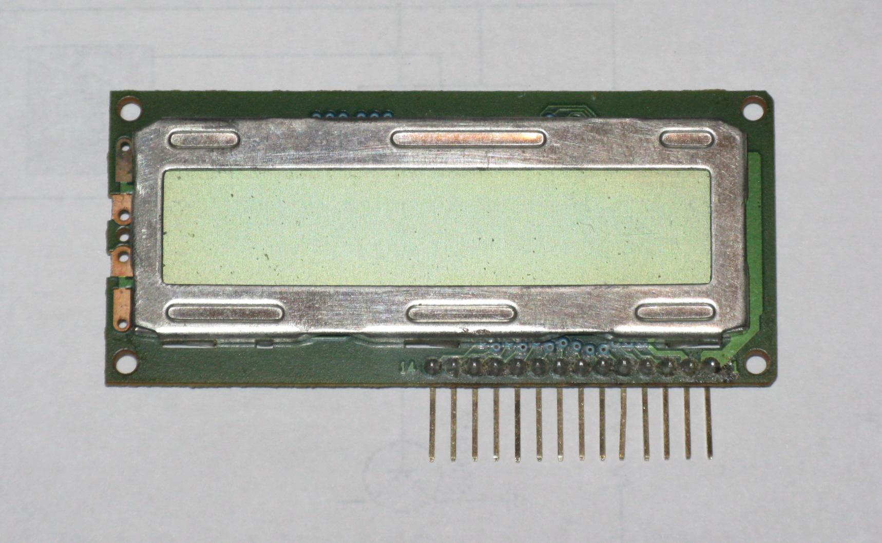 Pinning Liquid Crystal Displays