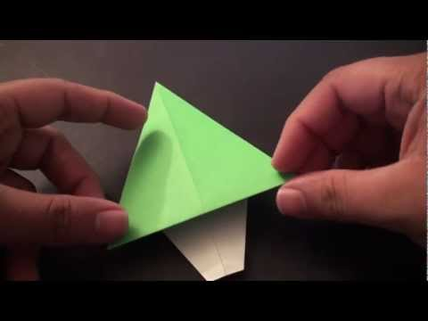How to Make an Origami Christmas Tree (Card Decoration)!