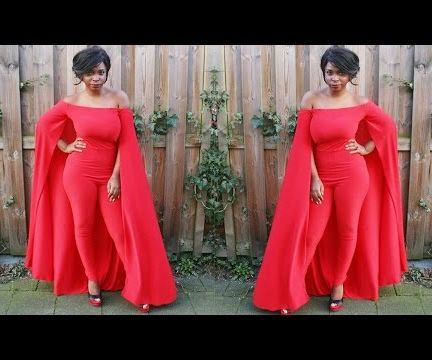 How to Sew a Cape Jumpsuit