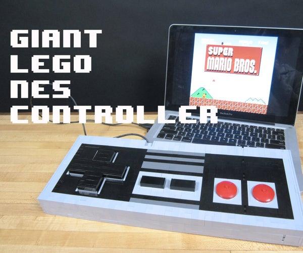 Giant LEGO NES Controller