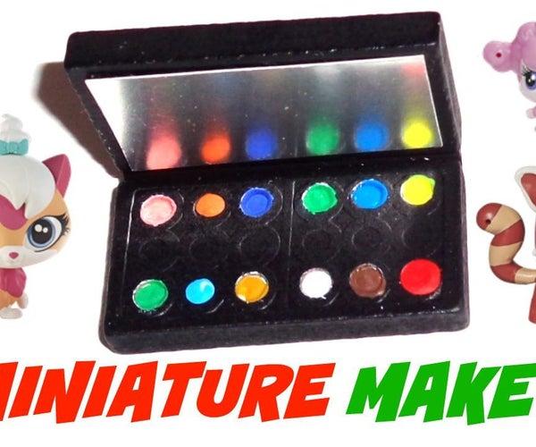 Miniature Makeup Doll Craft