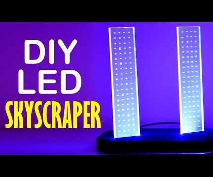DIY Skyscrapers LED Light