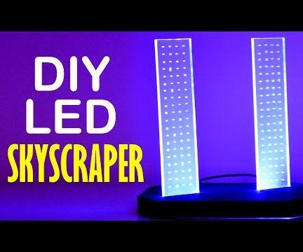 DIY Skyscrapers LED Light