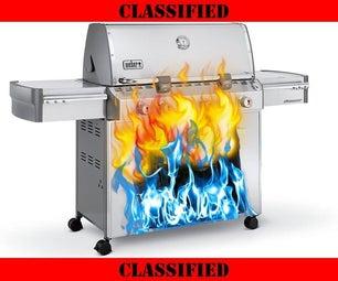 Secret Hybrid BBQ Machine