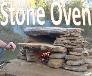 Stone Oven -How to Build / Use Primitive Cooking Technology-