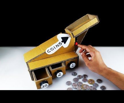 DIY Automatic Coin Sorting Machine