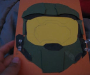 Master Chief Pop Up/3d Card