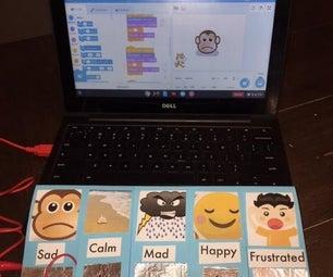 Makey Makey Emotions Communication Board
