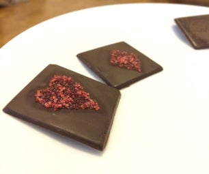 Caramelize Sugar Onto Chocolate With a Laser Cutter
