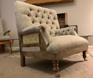 Handmade Chesterfield Love Seat