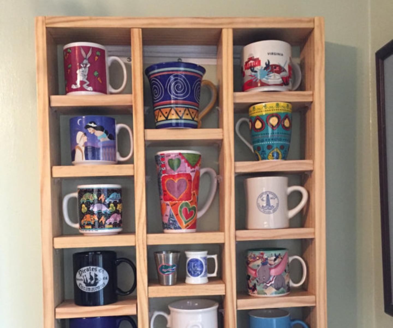 Mug Display Shelf