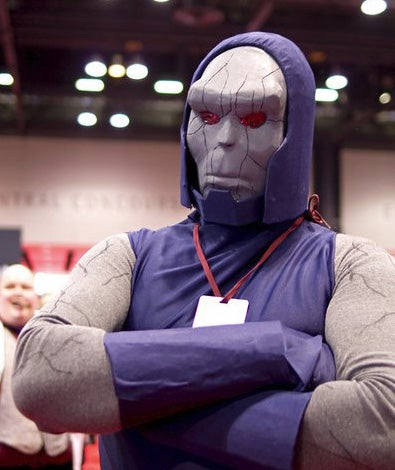 """How to Make a DC's """"Darkseid"""" Costume"""