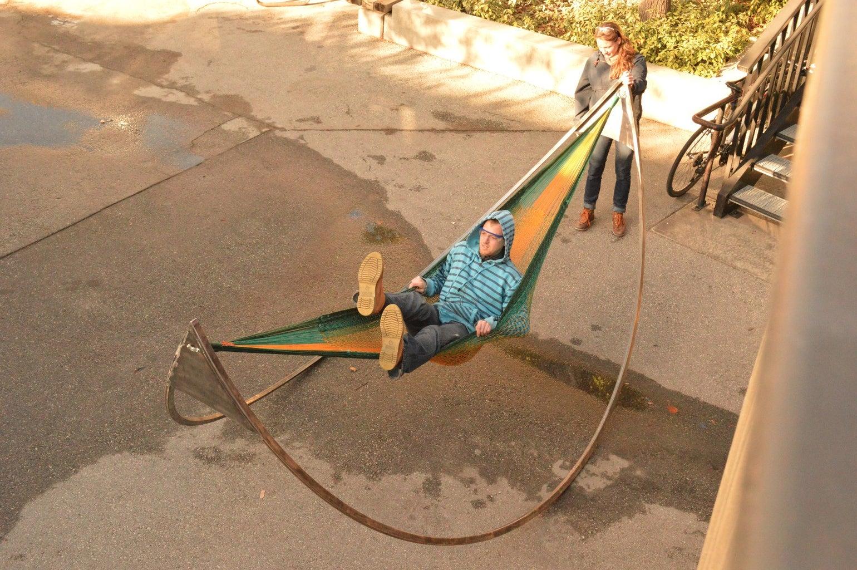 Set Up Hammock and Swing Away!