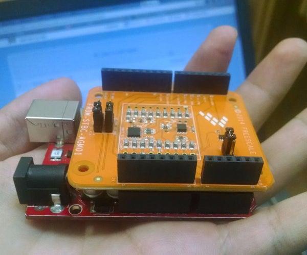 Usando Arduino Shield Freescale FRDM-STBC-AGM01