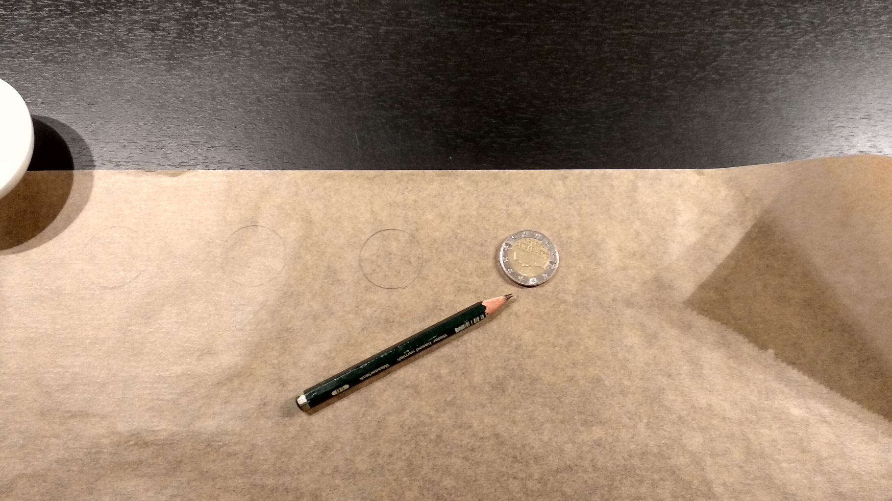 Prepare the Parchment Paper