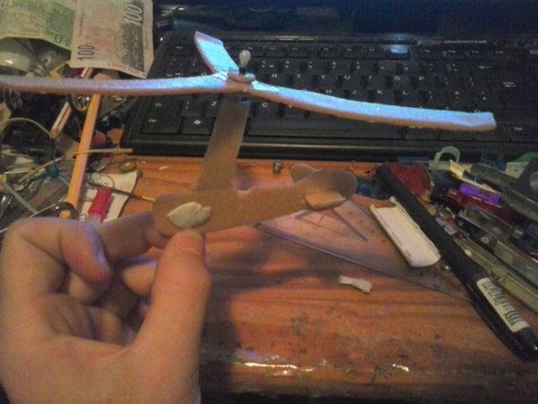 Simple Model De La Cierva Autogyro