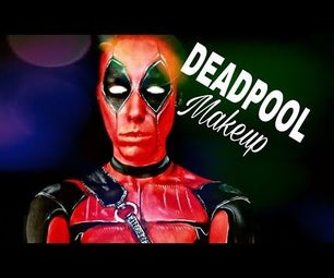 Deadpool Makeup Look