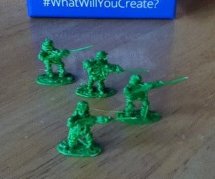 3Doodled Army Men