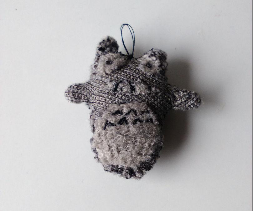 Tiny Totoro Keychain