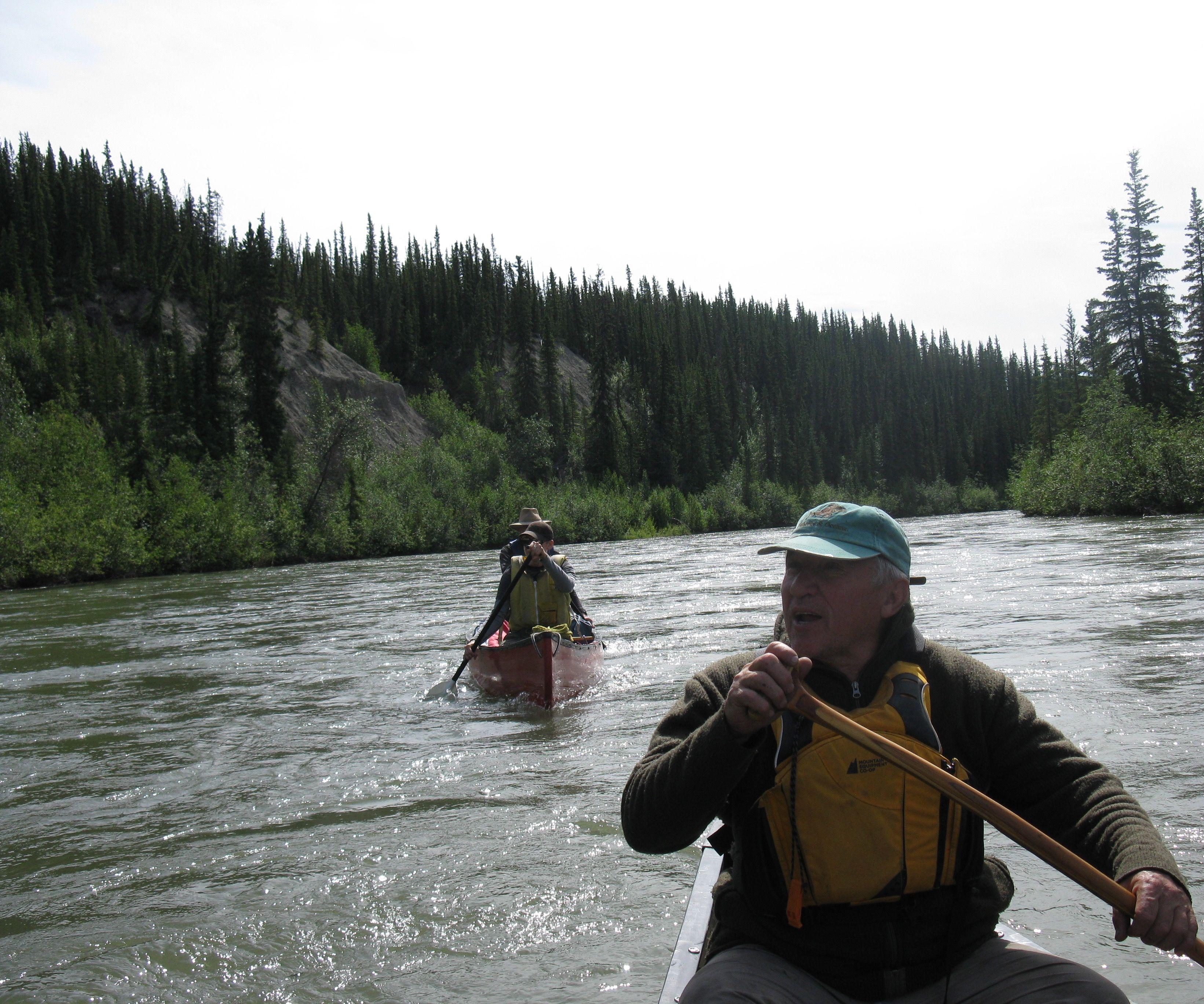 Bent Shaft Canoe Paddles