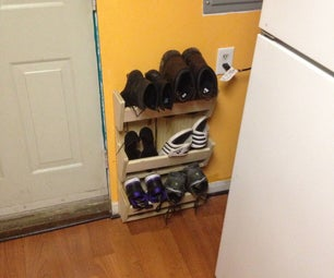 Simple Shoe Rack Free From Techshop Scaps
