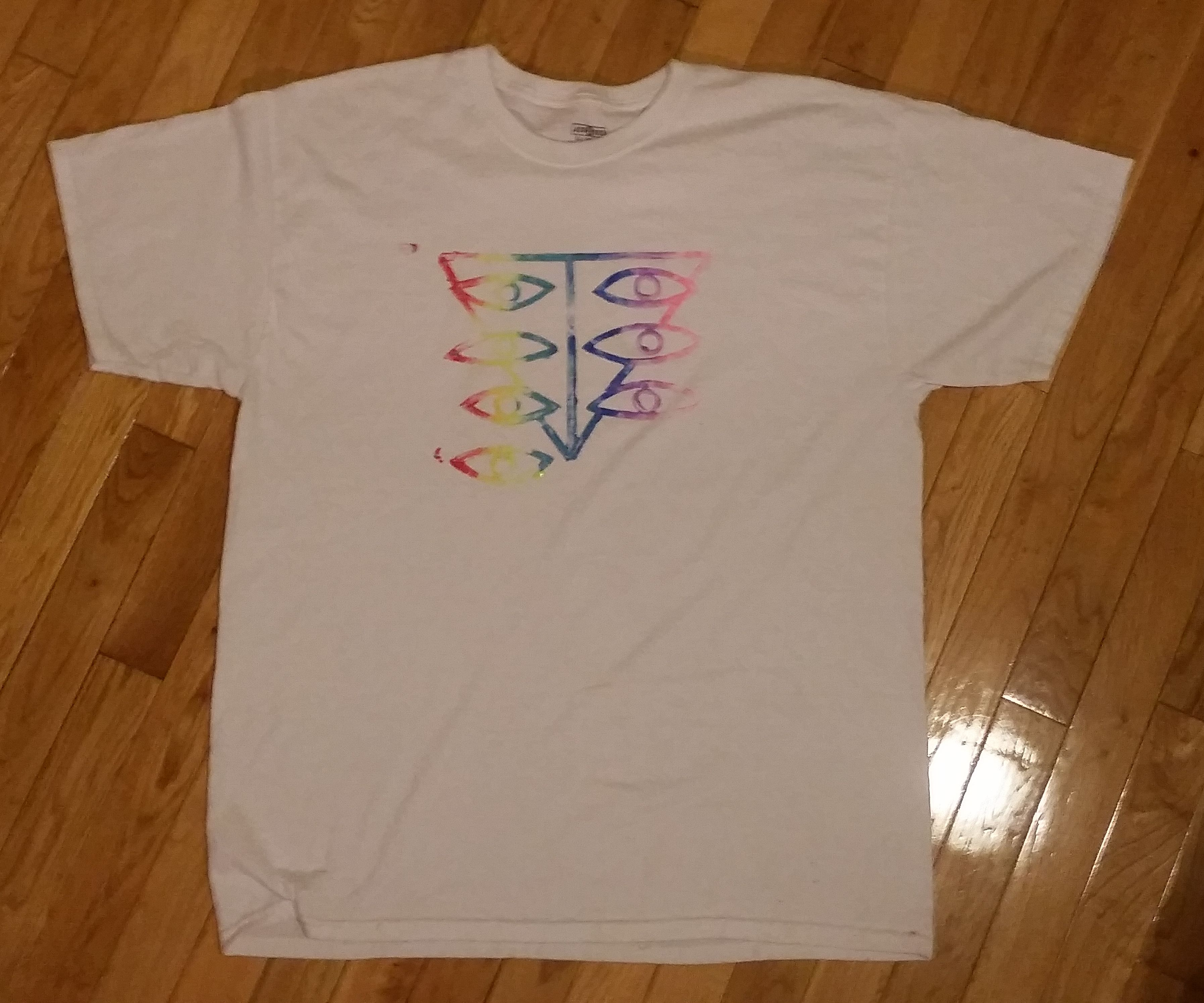 Foam T-Shirt Stamp: For Simple Illustrations That Are Difficult to Stencil