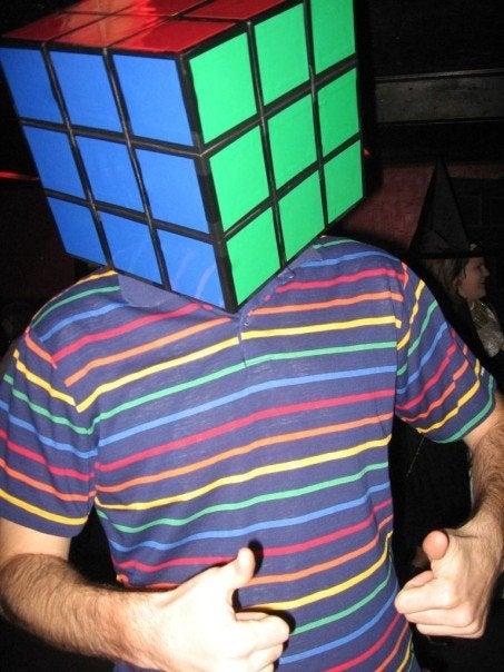 Rubiks Cube Head