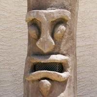Outdoor Tiki Speaker