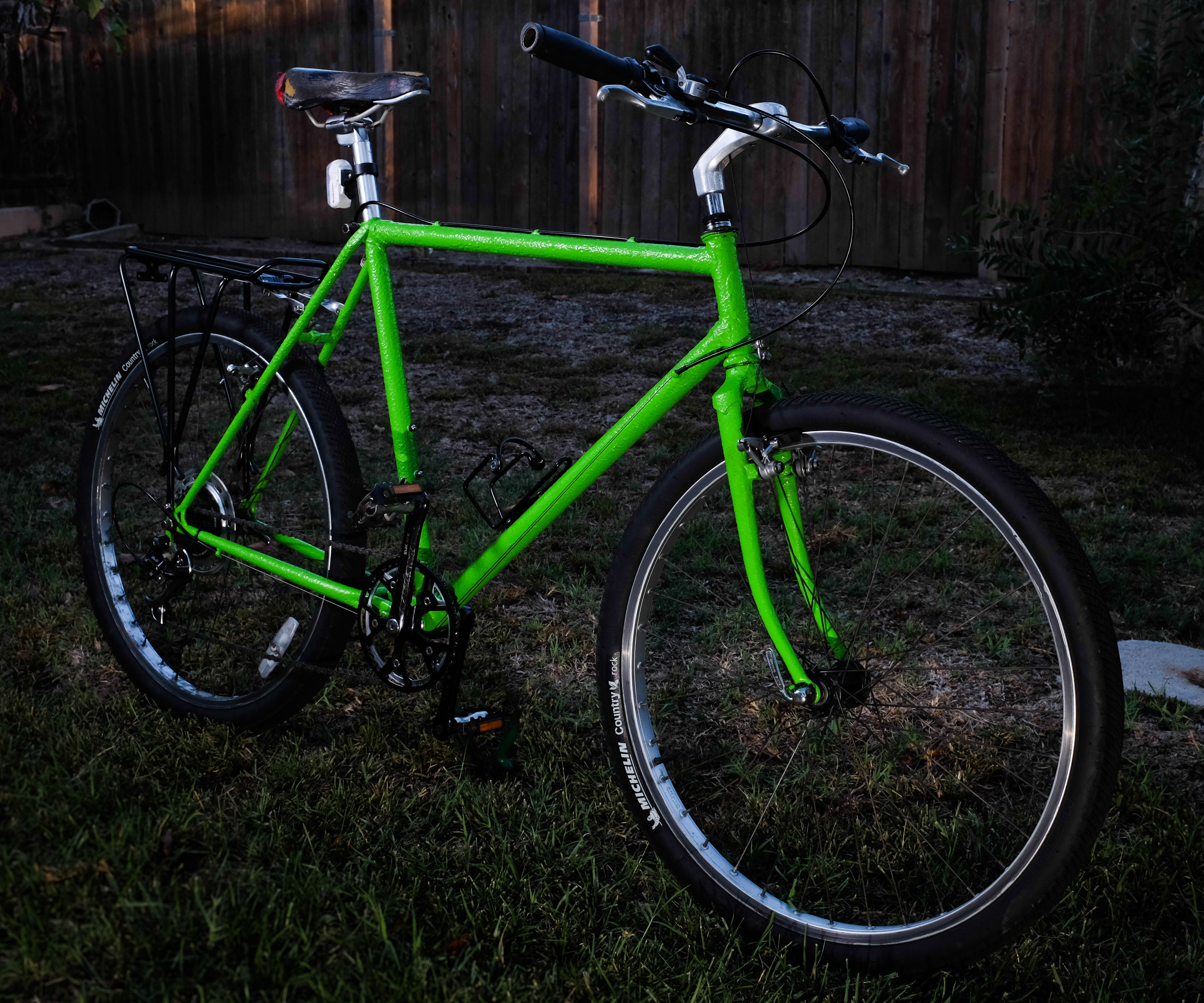 Bed Liner Bike Frame