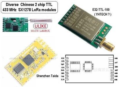 Chinese LoRa™ Modules - 2