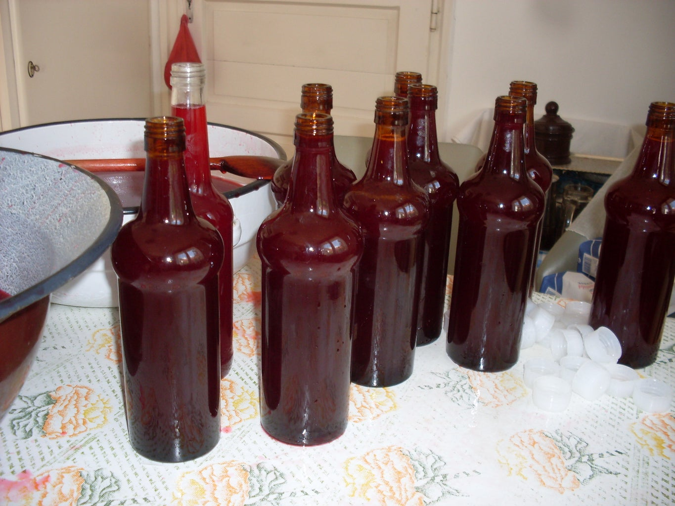 Old Style Raspberry Syrup