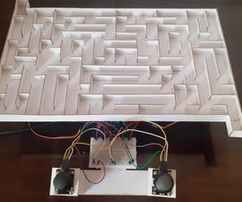 3d Maze Game Using Arduino