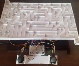 3d Maze Game Using Arduino