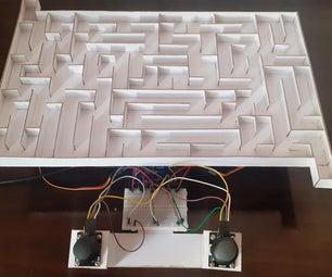 3D使用Arduino的迷宫游戏
