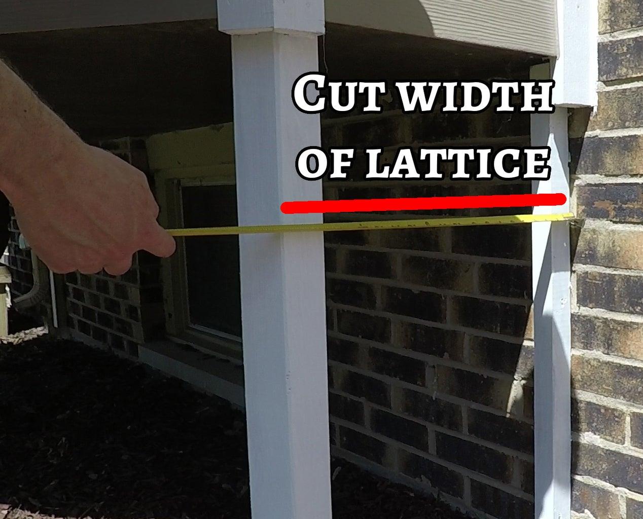 Measure and Cut Lattice
