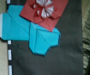 How to Make..............valentine Flower Pop Up Card Wid Lover Skech or Photograph