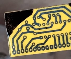 Etching PCB With HCL and Hydrogen Peroxide