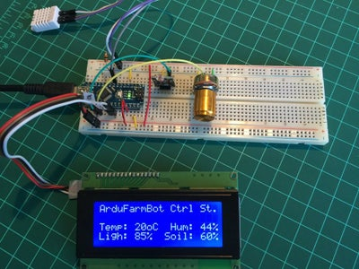 Adding a LCD for Local Monitoring