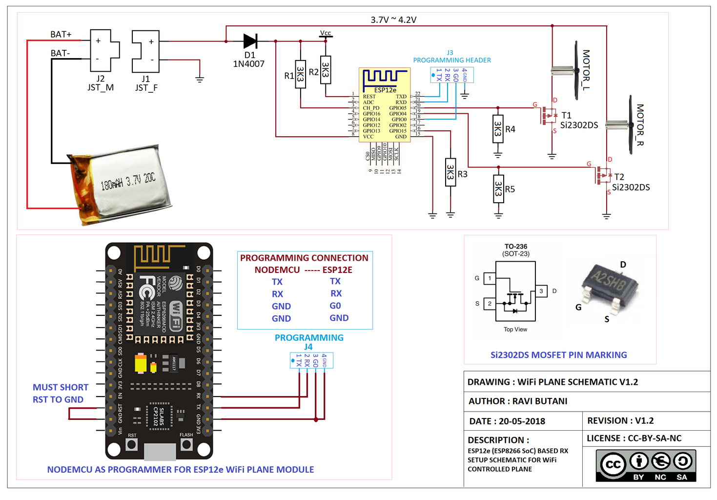Step 3: Controller Schematic Based on ESP8266