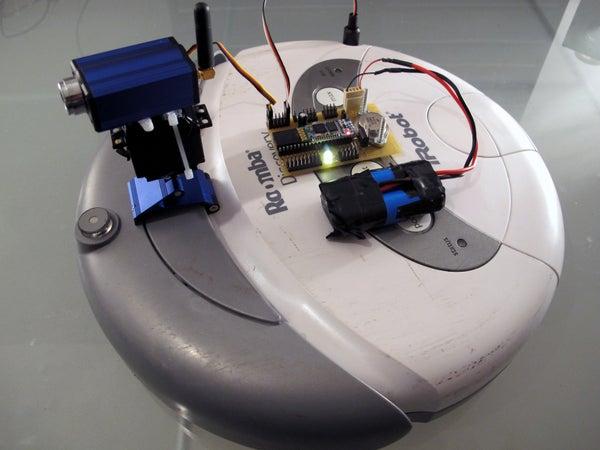 Bluetooth Your IRobot Roomba!