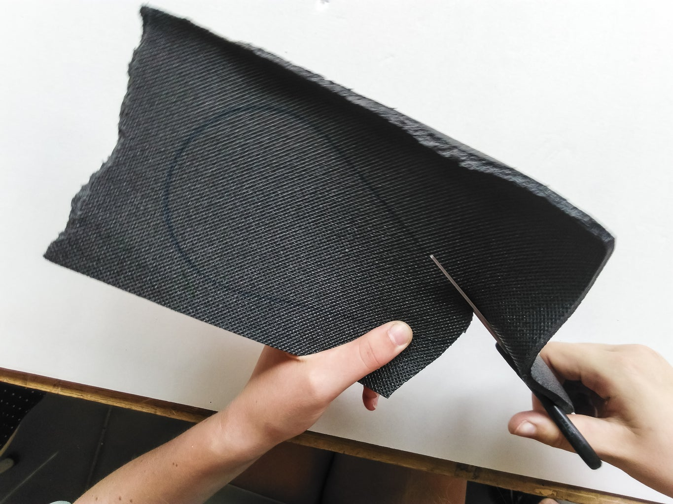 Make the Foamcover for the Bottom
