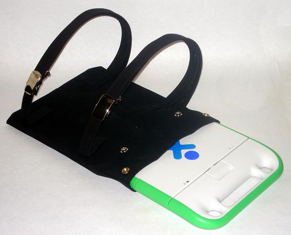 Stylish Black OLPC Backpack Bag