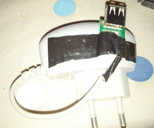 Build a 5v Usb Charger With an Old Samsung Adapter