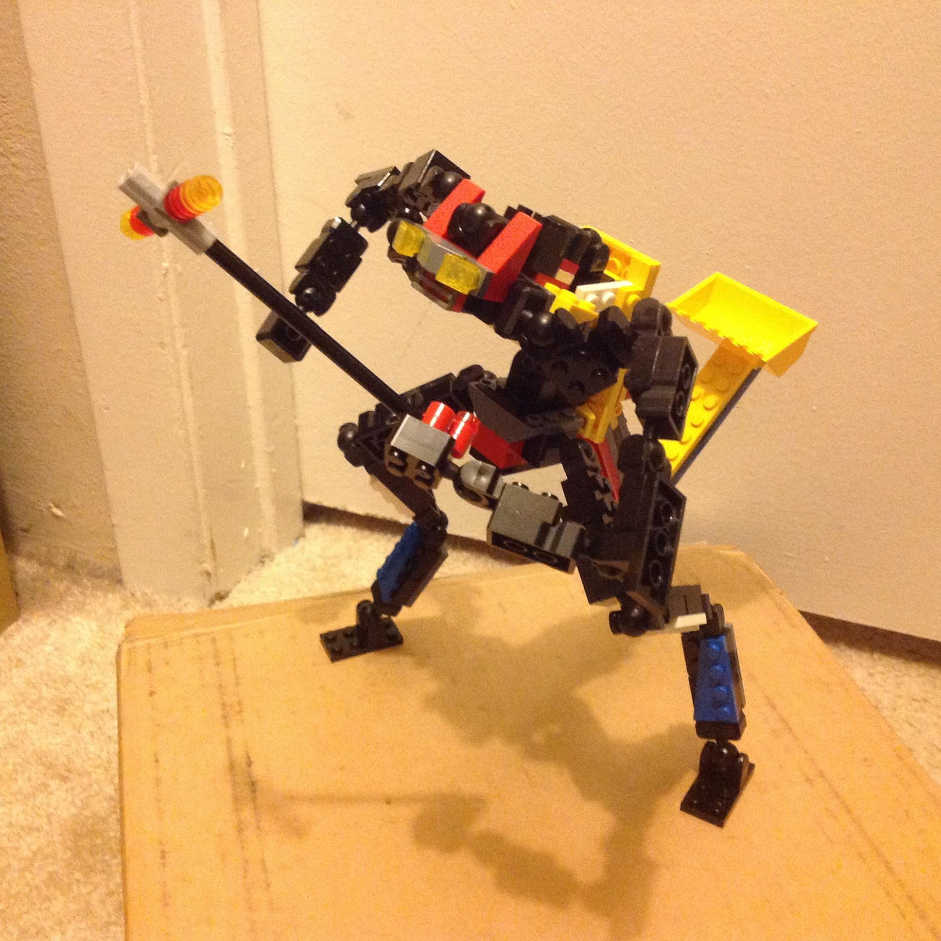 Lego Transformer... Autobot? Lost Constructicon? You Decide!