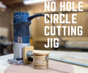 No Hole Circle Cutting Jig