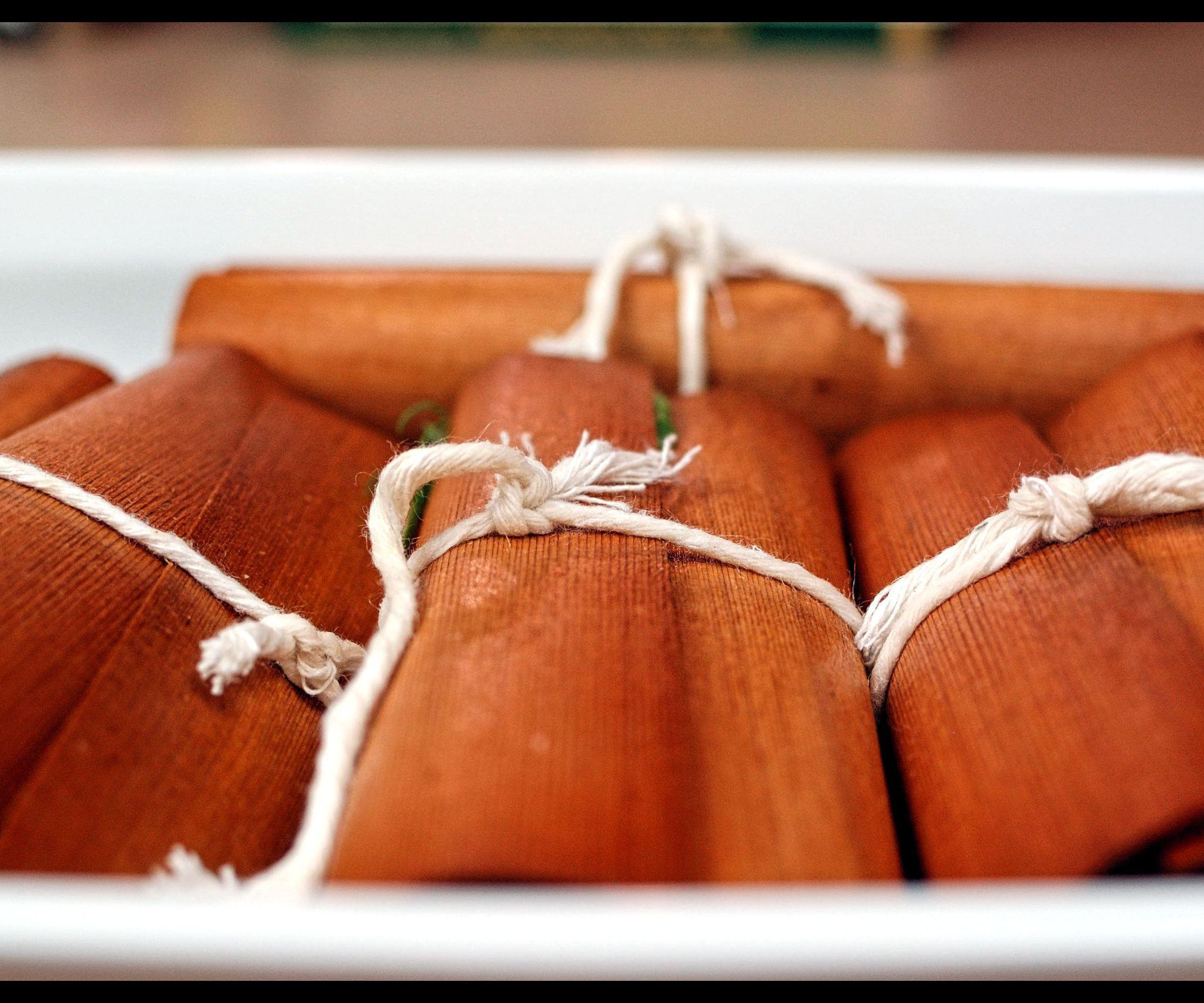 Cedar Wrapped Baked Swiss Chard Cod