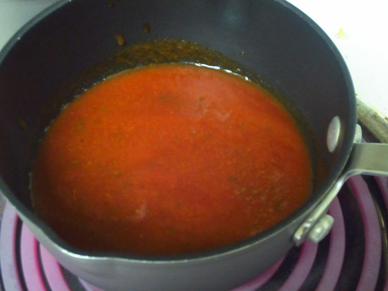 Pizza Sauce Using Homemade Enchilada Sauce