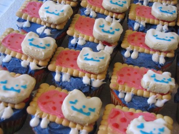 Rainbow Nyan Cat Cupcakes